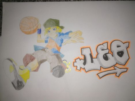 Leo from the basketeers by Ridwanxridwan