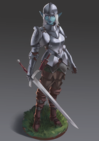 Paladin Frost by Chacobo