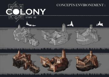 Colony: fortress by Popuche