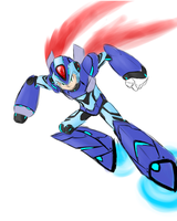 Megaman X by NGBH