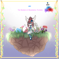Jay The Garden of Meaningful Flowers by Jade-Hearts-Art