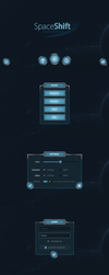 Spaceshift Mobile UI by Evil-S