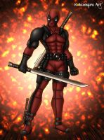 Deadpool by Rokumaru