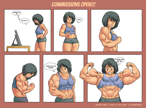 COMIC COMMISSIONS OPEN!!!! by NeroScottKennedy