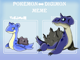Lapras digivolve to.... by Gecko-Girl