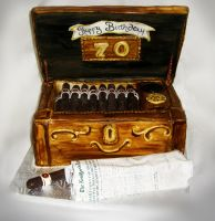Have a Cigar Cake by TiffsWickedCakes