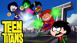 Toon Titans by Bearquarter2008