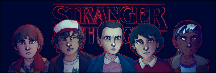 - Stranger Things- by HennaFaunway
