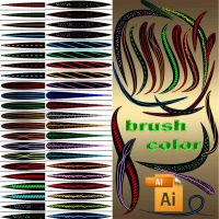 color brushes by roula33