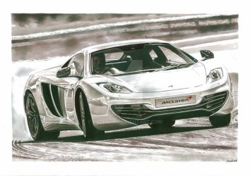 2013 McLaren MP4-12C by przemus