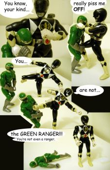 Green Ranger Issues by knighted-feline