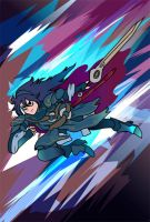 Super Vector Bros.: Lucina by timberking
