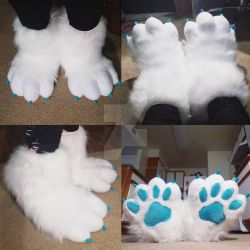 Sockpaws Commission: Joeys Feetpaws by RageandRoarCustoms