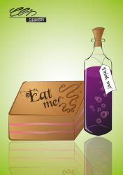 Eat me Drink me by creativeIntoxication