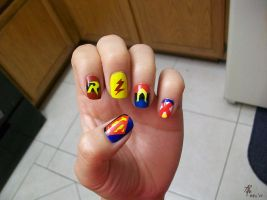 YJ: Painted Nails by aimoia