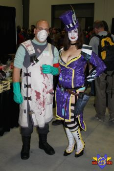 Dr. Zed/Mad Moxxie Cosplay - Ottawa Comiccon 2013 by ConMenWebSeries