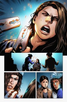 OrphanBlack Deviations#2 Page1 Color by sebastiancheng