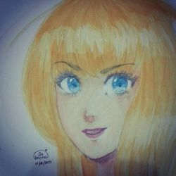 Watercolour Drawing by AnOnA-Q8