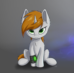 Littlepip by DeltauraArt