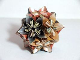 Kusudama 3 by SkyWookiee