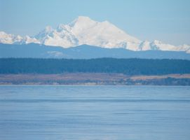 Stock: Mount Baker by Stock-By-Michelle