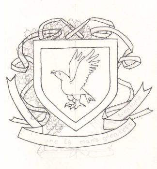 Ravenclaw Crest WIP 1 by kalany