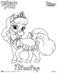 Bibbidy Princess Palace Pet Coloring Page by SKGaleana