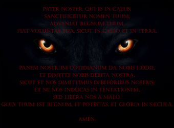 Pater Noster - PowerWolf by famili-monstro