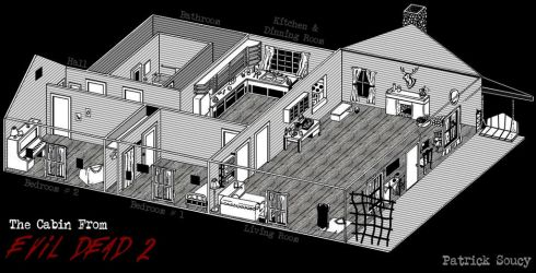 The Evil Dead 2 Cabin by Morsoth