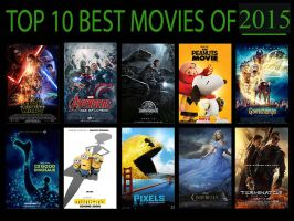 Top 10 Best Movies Of 2015 by KINGKAIJU5