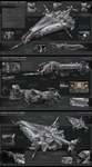 Butcher Class Heavy Gunship by KaranaK