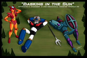 Mazinger Series - Basking in the Sun by GearGades