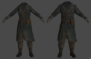 'Fallout 4' Hunter Outfit XPS ONLY!!! by lezisell