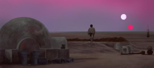Film Color Study 2 - A New Hope by N8watcher