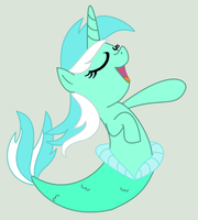 Comission: The Mermaid Lyra by doggie31