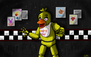 Chica is coming for you by Shimazun