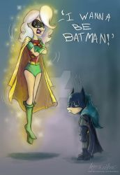 Maddy And Mary Sue as Batman And Robin by Mad--Munchkin