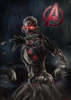 Ultron Custom Promo Poster by HZ-Designs