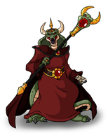 Evil lord Vizer by Lordstevie