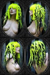 aTomiC DreAd wiG steAmPunK by LunaticDolls