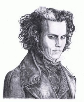 Sweeney Todd (Johnny Depp) by MarkusBogner