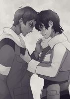 Lance And Keith Neck And Neck by neli-draws