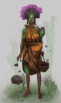 Element Earth Concept - Ayana by Nionchi
