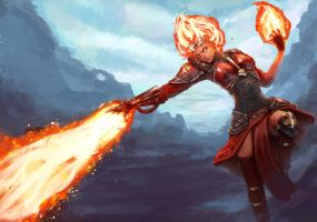 Chandra MTG by EleMont