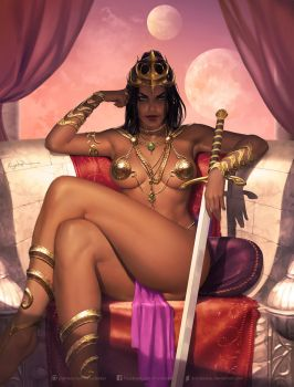 Dejah Thoris by krysdecker