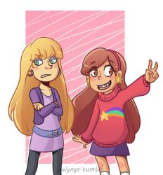 Pacific and Mabel by JaelynGS