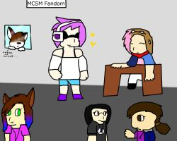 Me and fandoms (dedicated to people I admire) by spyrkle4