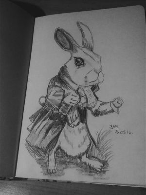 White Rabbit by YamilyAlbrecht