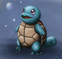 Squirtle by AnnePagno