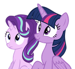 Twilight And Starlight Pay Attention by Hendro107